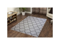 LivingStyles Sweden No.468 Handwoven Wool Rug in Natural - 160x230cm