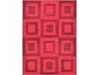 LivingStyles Jersey Blossom Karlan 240x330cm Turkish Made Rug - Red