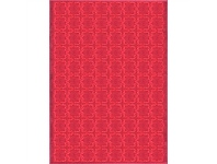 LivingStyles Jersey Blossom Mazey 240x330cm Turkish Made Rug - Red