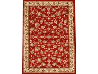 LivingStyles Istanbul Floral Turkish Made Oriental Rug, 170x120cm, Red