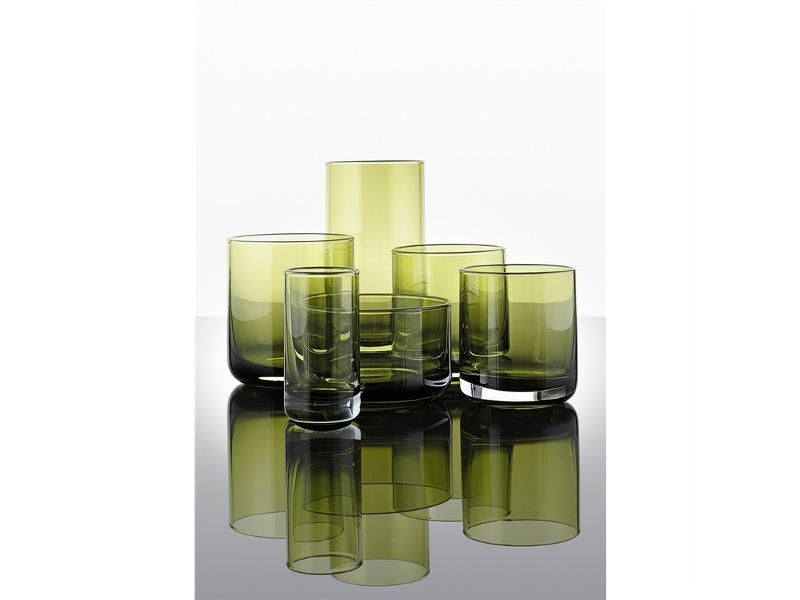 IVV Lounge Bar Water Glass, Set of 6, Green