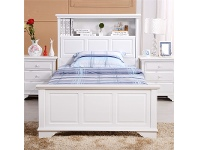 LivingStyles Liszt Single Bed with Trundle