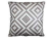 LivingStyles Set of 2 Vincent Fabric Cushions - Grey