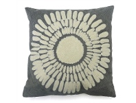 LivingStyles Set of 2 Isa Printed Fabric Scatter Cushion - Grey