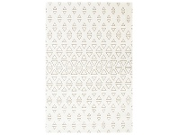 LivingStyles Ohio Ransom Turkish Made 160x230cm Rug - Cream