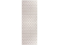 LivingStyles Ohio Ransom Turkish Made 80x300cm Runner Rug - Cream