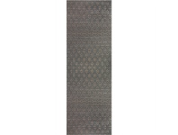 LivingStyles Ohio Ransom Turkish Made 80x300cm Runner Rug - Grey