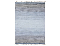 LivingStyles Ombre Handwoven Wool Rug, 280x190cm, Blue