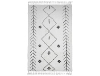 LivingStyles Sabina Hand Knotted Wool Rug, 230x160cm