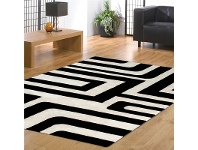 LivingStyles Deogan 150x240cm Hand Tufted New Zealand Wool and Viscose Rug