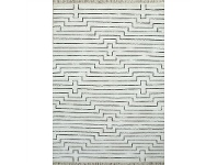 LivingStyles Levenia Hand Loomed Viscose & Cotton Rug, 160x230cm