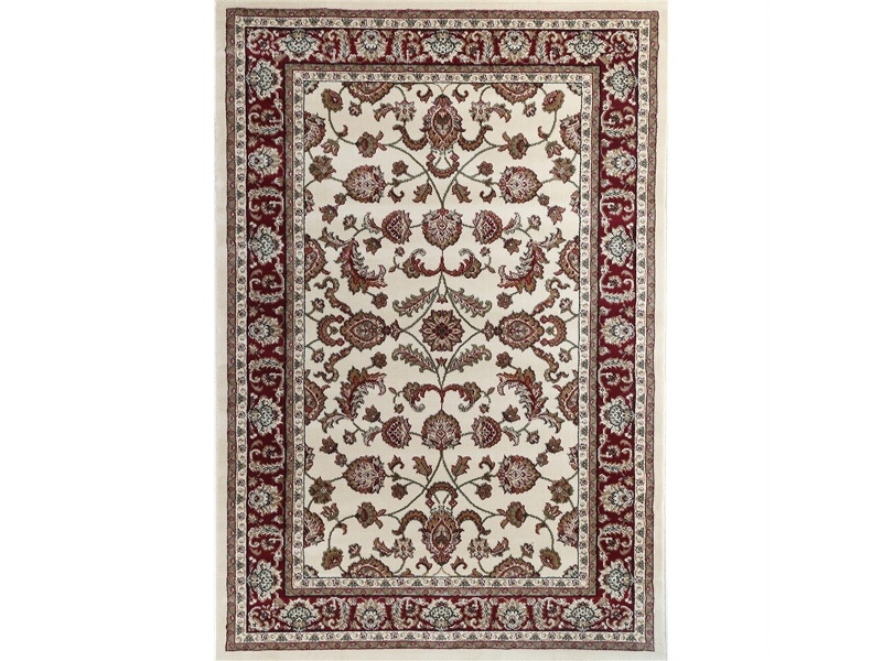 Julian Tait Turkish Made Oriental Rug, 290x200cm, Cream / Red
