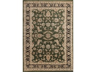 LivingStyles Julian Tait Turkish Made Oriental Rug, 290x200cm, Green / Black
