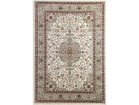 LivingStyles Julian Nela Turkish Made Oriental Rug, 290x200cm, Cream