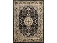 LivingStyles Julian Nela Turkish Made Oriental Rug, 330x240cm, Black