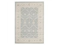 LivingStyles Jewel Chobi Turkish Made Oriental Rug, 400x300cm, Ice Blue
