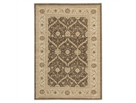 LivingStyles Jewel Chobi Turkish Made Oriental Rug, 290x200cm, Brown