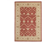 LivingStyles Jewel Chobi Turkish Made Oriental Rug, 330x240cm, Red