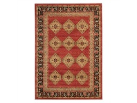 LivingStyles Jewel Shiraz Turkish Made Oriental Rug, 400x300cm, Red