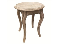 LivingStyles Cherilyn Solid Beech Timber Dining Stool
