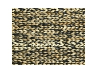 LivingStyles Mamda Hand Braided Jute Rug, 230x160cm, Charcoal / Natural