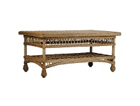 LivingStyles Bexley Rattan Coffee Table