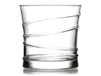 LivingStyles Ring Set of 6 Double Old Fashioned Whisky Tumblers
