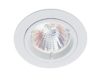 LivingStyles Allison Fixed Downlight Trim, White