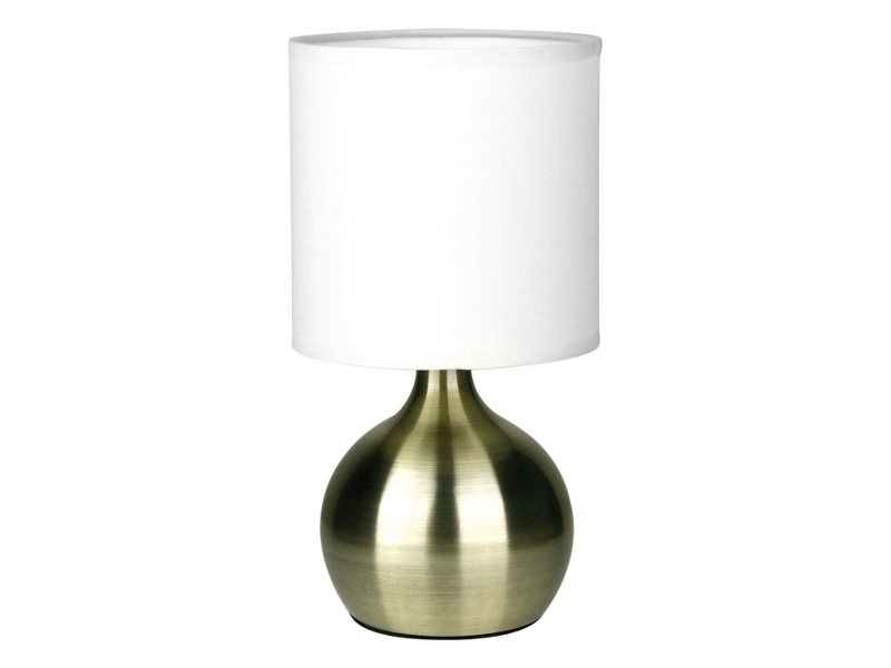 Lotti 3 Stage Touch Table Lamp, Antique Brass