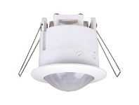 LivingStyles IP20 Recessed 360 Degree Lightwatch Motion Sensor - White (Oriel Lighting)