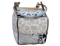 LivingStyles Wighton Cowhide Square Door Stooper