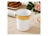 LivingStyles Noritake Majestic Fine China Mug - Yellow