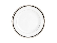 LivingStyles Noritake Toorak Noir Fine China Butter and Bread Plate