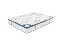 LivingStyles Oasby Medium Firm Pocket Spring Mattress with Memory Foam Pillow Top, Double