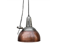 LivingStyles Gifford Industrial Copper Pendant Lamp Shade