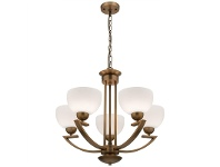 LivingStyles Hepburn 5 Light Chandelier