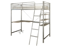 LivingStyles Melbourne Single Bunk In Silver