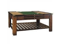 LivingStyles Salontafel Solid Timber 120cm Coffee/Game Table
