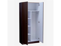 LivingStyles Mission 180x80cm Pantry Combo - Walnut