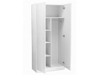 LivingStyles Mission 180x80cm Pantry Combo - White