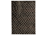 LivingStyles Egyptian Made Moroccan Web Design Rug in Chocolate - 330x240cm