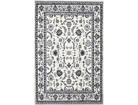LivingStyles Morgan Barolo Turkish Made Oriental Rug, 160x220cm, Cream