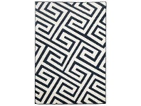 LivingStyles Dolce Egyptian Made Indoor/Outdoor Rug in Navy - 290x200cm