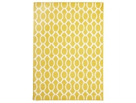 LivingStyles Neo Egyptian Made Indoor/Outdoor Rug in Yellow - 290x200cm