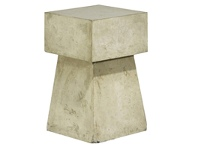 LivingStyles Mushroom Cement Outdoor Table Stool