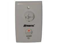 LivingStyles Martec 3-Speed Wall Control and Light Switch