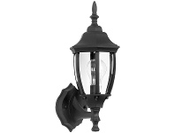 Dakota IP44 Exterior Wall Lantern, Black