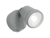 LivingStyles Otto IP54 LED Floodlight, Silver