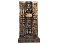 LivingStyles Veronese Cold Cast Bronze Coated Mayan Figurine Bookend