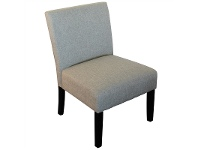 LivingStyles Adelphia Fabric Upholstered Accent Chair, Natural